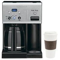 Cuisinart CHW-12 Coffee +12-Cup Programmable Coffeemaker w/ Hot Water System, Black + Mug