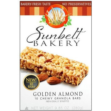 Sunbelt Bakery Golden Almond Chewy Granola Bars 10 Ct [3 Pack]