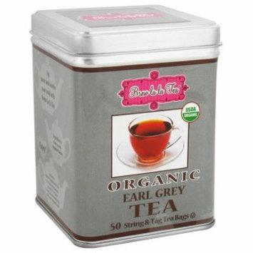Brew La La - Organic Earl Grey Tea - 50 Tea Bags