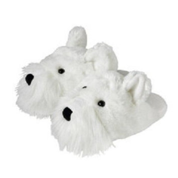 Aromahome Fuzzy Feet Slippers Black Cat
