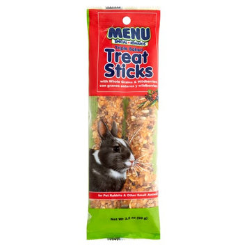 MENU TREAT STICKS WITH WHOLE GRAINS & WILDBERRIES FOR PET RABBITS