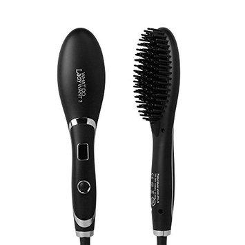 Hair Straightening Brush Ceramic Heating Professional Electric Combs