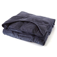 Sommerfly Sleep Tight Weighted Blanket Navy Blue Medium