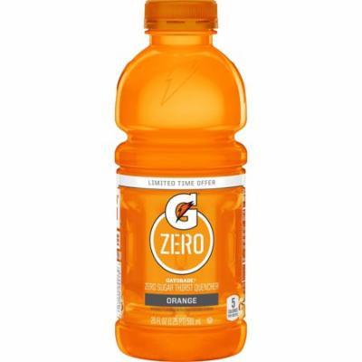 Gatorade G Zero Sugar Sports Drink, Orange, 20 Fl Oz, 12 Ct