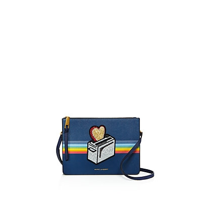 Ysl Marc Jacobs Rainbow Flat Crossbody - 100% Exclusive