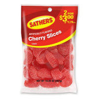Ferrara Candy Company Sathers Cherry Slices Gummy Candy, 10.25 Ounce Bag