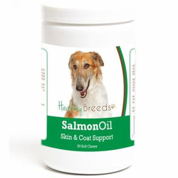 Healthy Breeds Borzois Salmon Oil Soft Chews 90 Count