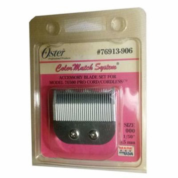 Genuine OSTER Blade Size 000 for Model 76500 Cordless 76913-906 Cuts 1/50