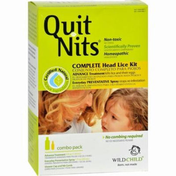 Hyland's Quit Nits Complete Head Lice Kit