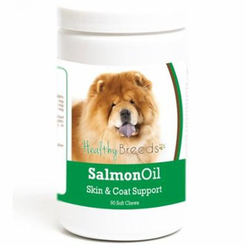 Healthy Breeds Chow Chow Salmon Oil Soft Chews 90 Count