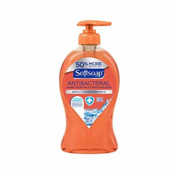 3 Pack Softsoap Liquid Hand Soap Pump Antibacterial Crisp Clean 11.25 Oz Each