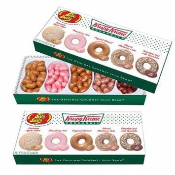 (Set/2) Jelly Belly Krispy Kreme Gift Boxes w/ 5 Authentic Flavors - 9oz
