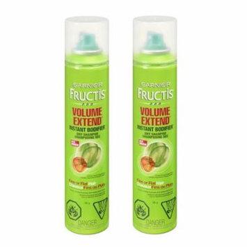 Garnier Fructis Volume Extend Instant Bodifier Dry Shampoo 3.40 oz (Pack of 2) + Makeup Blender Sponge