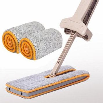iLH Double-Side Non-Hand Washing Mop Accessories Dust Push Mop Cloth Clean Tool