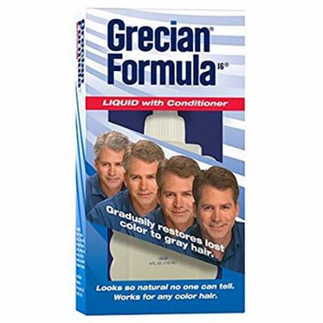 4 Pack Grecian Formula Liquid with Conditioner, 4 Ounce each