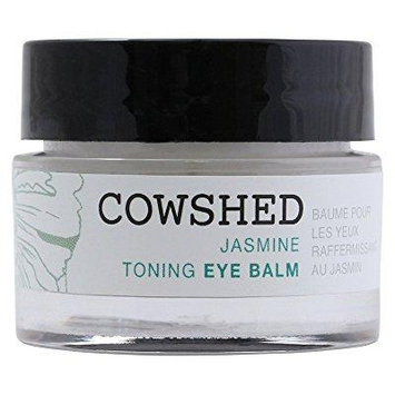 cowshed jasmine toning eye balm for women, 0.5 ounce