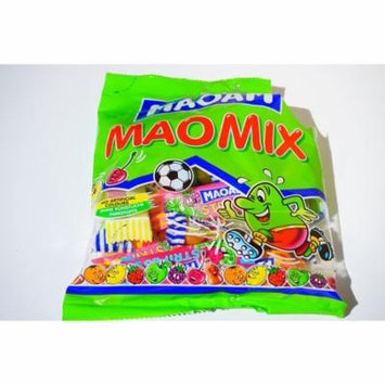 LAMINATED POSTER Open Bag Maoam Candy Bag Chewy Candy Touched On Poster 24x16 Adhesive Decal