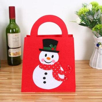 Mosunx Decoration Creative Home Party Christmas Souvenir Candy Red wine Makeup Bag