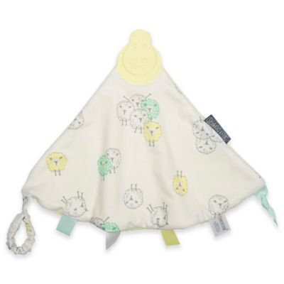 Kalencom Cheeky Chompers Comfortchew Teething Bib - Barnaby Sheep