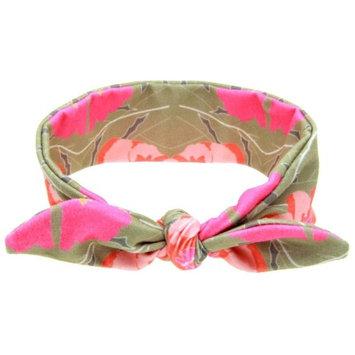 Baby Headbands, Bestpriceam Baby Girls Rabbit Bow Ear Hairband Headband Turban Knot Tie Head Wraps (Hot Pink)