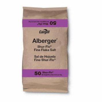 Cargill 100012489 Cargill Alberger Shur-Flo Fine Flake Salt 50Lb