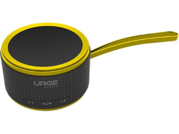 URGE Basics UG-PUMP-GYLW Yellow PUMP Bluetooth Wireless Speaker