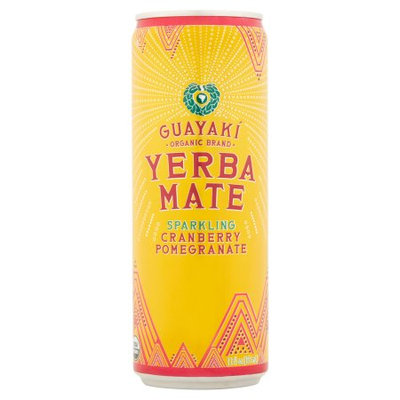 Guayak - S.r.p. Guayaki, Yrbamte Rtd Sparkling Cranberry Pmgrn, 12 Fo (Pack Of 12)