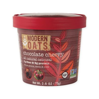 Modern Oats All Natural Oatmeal Cups - Chocolate Cherry - 2.6 oz