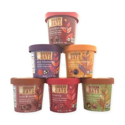 Modern Oats All Natural Oatmeal Cups - Variety Pack - 2.6 oz