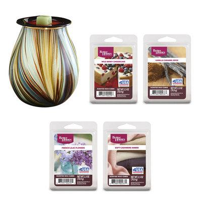 Better Homes and Gardens® Mystify Art Glass Wax Warmer