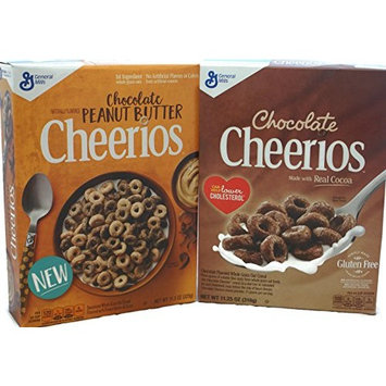Variety Pack - General Mills Cheerios - Chocolate (11.25 oz), Chocolate Peanut Butter (11.3 oz)