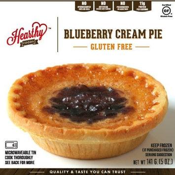 Hearthy Blueberry Cream Pie [BLUEBERRY]