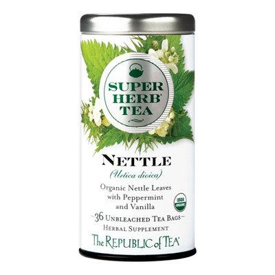 The Republic Of Tea Organic Nettle SuperHerb Tea Bags, 36 Tea Bag Tin