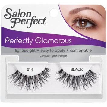 Salon Perfect Perfectly Glamorous False Lashes, 614 Black