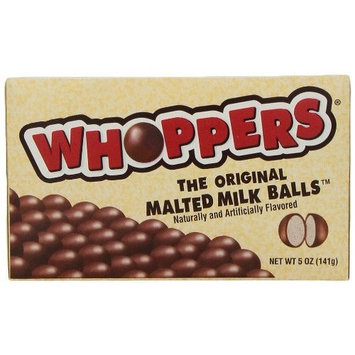 Whoppers Malted Milk Balls, 5-Ounce Box (Pack of 4)