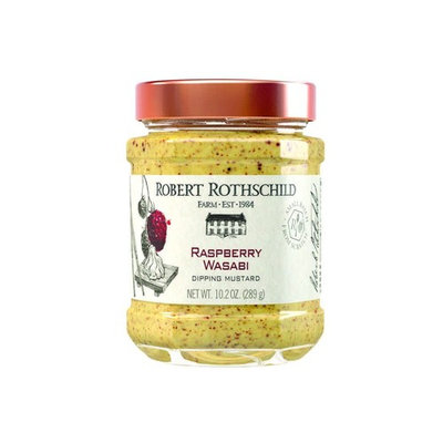 Robert Rothschild Farm Raspberry Wasabi Dipping Mustard 10.2 oz