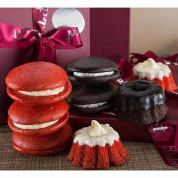 Chocolate Mini Bundt and Red Velvet Whoopie Pie with Butter Cream and Chocola...