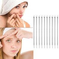 Blackhead Remover Set,Putars 10 Pcs Pimple Blemish Comedone Acne Extractor Tool Blackhead Remover Needles