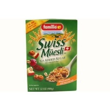 familia swiss muesli (no added sugar) - 32oz [3 units] (072762012140) by Familia