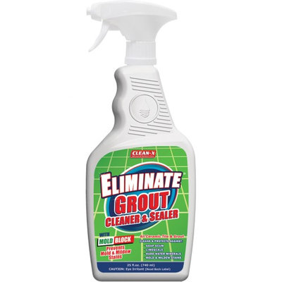 Clean-X Bathroom Cleaning Supplies 25 oz. Eliminate Shower, Tub and Tile Cleaner 7999-7
