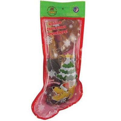 Jones Natural Chews Canine Christmas Crunchers Stocking [Options : Jones Natural Chews Canine Christmas Crunchers Stocking]