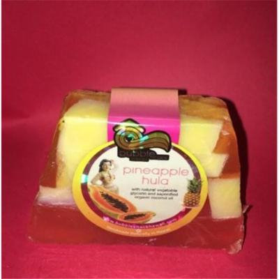 Bubble Shack Hawaii 853686006862 Pineapple Hula Chunk Soap
