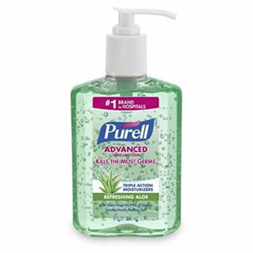 Purell Hand Sanitizer with Aloe 8 oz (Pack of 5)