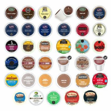 GNS Sales Vanilla, Hazelnut Flavored Mix Pack of Premium Coffees, Keurig Collection, 36 Count