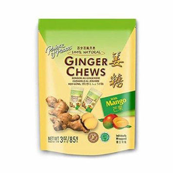 Prince Of Peace® 100 Percent Natural Ginger Candy Chews Mango