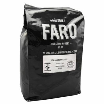 Faro Roasting House Faro Italian Espresso, Strong And Rich Whole Coffee Beans with Unique Blend of Robusta and Arabica Beans