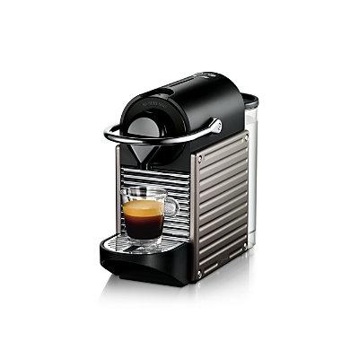 Nestle Nespresso Pixie Espresso Machine - Titan, Black/Grey