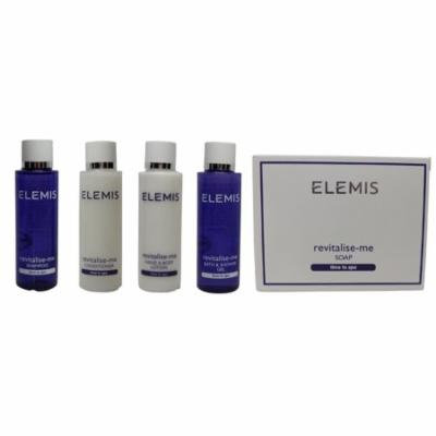 Elemis Revitalise Me Travel Set 1 Shampoo, 1 Conditioner, 1 Lotion, 1 Gel, & 1 Soap