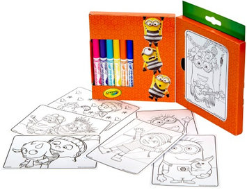 Crayola 04-0058 Despicable Me 3 -Mini Coloring Pages