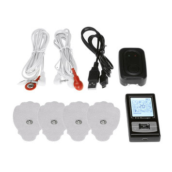 Creative Sourcing International PCH Digital Pulse Massager 3 with AB Unit Black